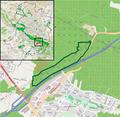 Bielefeld - NSG Behrendsgrund - Map.png