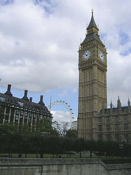 File:Big Ben and London Eye.jpg