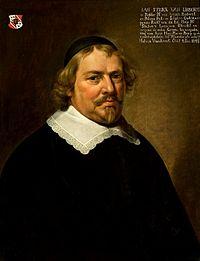 portret van Jan Strick van Linschoten