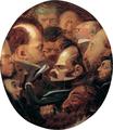 Bildniskarikaturen, u. a. Carl Siebel (1836), Emil Rittershaus (1834–1857) und Carl Michels (1831–1866), 1859.png