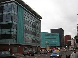 Sheffield Bioincubator - The Bioincubator, viewed from Brook Hill