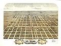 Bird's eye view of the city of El Paso, Woodford County, Illinois 1869. LOC 73693355.jpg