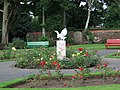 Bird sculpture at Aubery Park - geograph.org.uk - 943721.jpg
