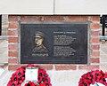 Birkenhead Institute War Memorial, Hamilton Square - Futility plaque.jpg