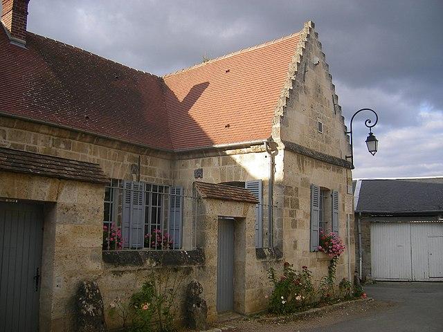 Дом Сен-Жюста в Блеранкуре
