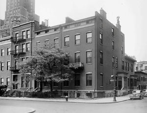 New York University School of Social Work - Historic NYUSilver Townhouses.
