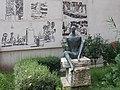 Black boy statue by Anna Kárpáti, 1967, Lágymányos, 2016 Újbuda.jpg