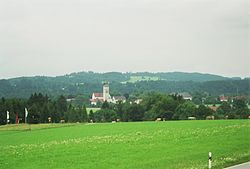 Rottenbuch seen from the west