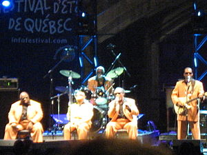 The Blind Boys of Alabama - The Blind Boys of Alabama performing at the Quebec City Summer Festival in July 2008