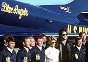 Blue Angels Newton-John Travolta cropped