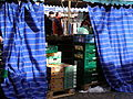 Blue curtains at market stall.jpg