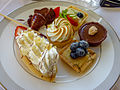 Blueberries and strawberries - it must be healthy (8034683880).jpg