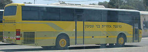 Bnei Shimon Regional Council - school bus