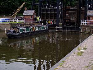 Anderton Boat Lift - Image: Boat Lift