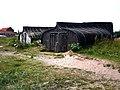 Boat sheds on Holy Island - geograph.org.uk - 916775.jpg