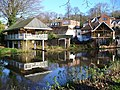 Boathouses on the Wey - geograph.org.uk - 294204.jpg