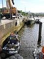 Boats tied up, Buncrana - geograph.org.uk - 1380075.jpg