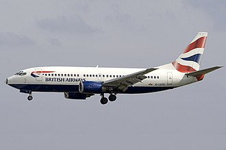 Boeing 737 Classic - British Airways Boeing 737-300