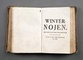 Boken Vinternöjen, 1766 - Skoklosters slott - 86203.tif