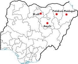 Boko Haram conflict map