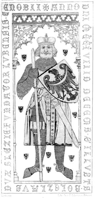 Bolesław I the Tall - Bolesław's tomb in Lubiąż