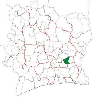 Bongouanou Department Department in Lacs, Ivory Coast