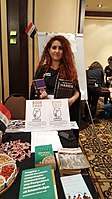 BookSwapping at Wikimania 2018 20180722 151806 (7).jpg