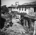Boršt, Gorenjci, hiše v vrsti, južna dvoriščna stran 1950.jpg