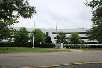 Borders Group - Borders headquarters building, Ann Arbor