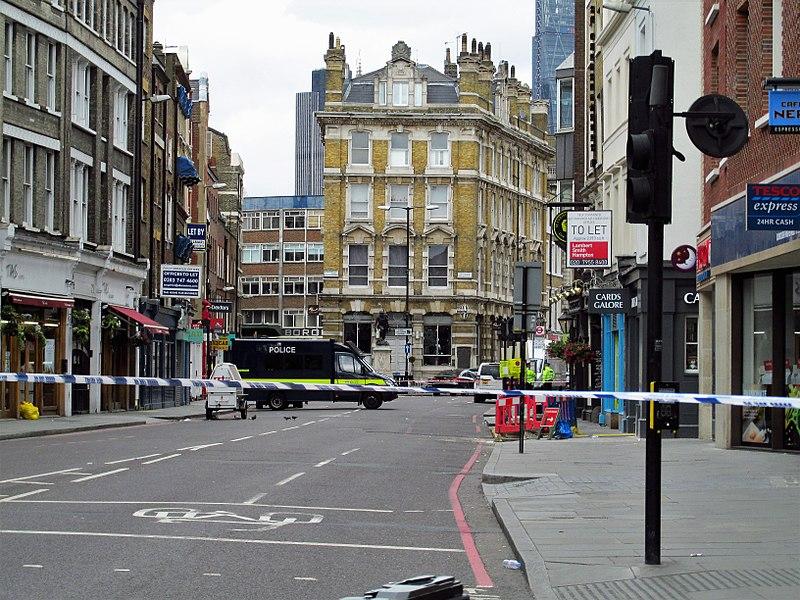 File:Borough High Street after the Terrorist Attack (35080024946).jpg