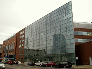 Drexel University - Edmund D. Bossone Research Center, located on Market Street 'Avenue of Technology'