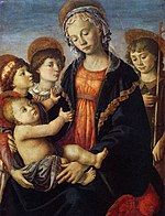 Botticelli, The Virgin and Child with Two Angels and the Young St John the Baptist.jpg