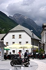 File:Bovec, in the centre of the town.jpg