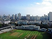 Brabourne Stadium, one of the oldest cricket stadiums in the city