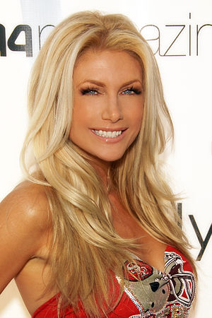 Brande Roderick - Roderick attending a Super Bowl XLIII Party at the Playboy Mansion on February 1, 2009.
