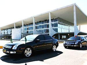 Presidential State Car (Brazil) - Image: Brazilian Presidential Motorcade