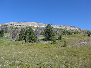 Breccia Peak (Wyoming) - Image: Breccia Peak WY01