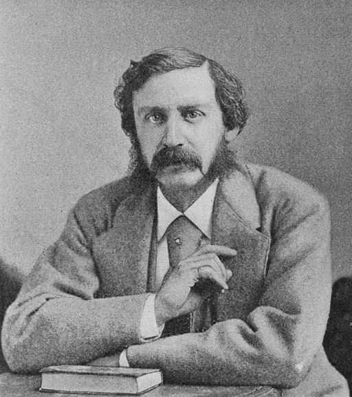 Bret Harte (by Sarony, 1872)
