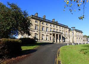 Bretton Hall, West Yorkshire - Bretton Hall front