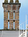 Brick chimney stack, Oldway Mansion, Paignton - geograph.org.uk - 699421.jpg