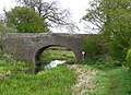 Bridge 3, Hatherton Branch Canal, Four Crosses, Staffordshire - geograph.org.uk - 787336.jpg