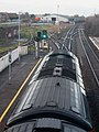 Bridgwater - GWR 43155 green signal for up train.JPG