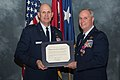 Brig. Gen. Harry Montgomery Jr. receives a Letter of Appreciation from President Obama 150110-Z-TY608-045.jpg
