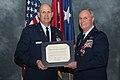Brig. Gen. Harry Montgomery Jr. receives a Letter of Appreciation from President Obama 150110-Z-TY608-045.jpg