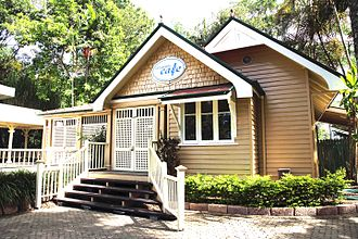 City Botanic Gardens - Curator's house (now cafe), 2014
