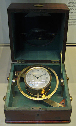 Second voyage of HMS Beagle - Ship's chronometer from HMS ''Beagle''