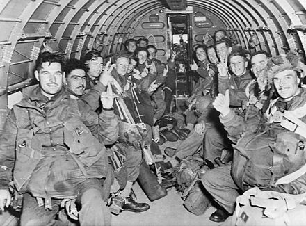 British paratroopers inside one of the C-47 transport aircraft, September 1944 British Paratroops inside one of the C-47 transport aircraft.jpg