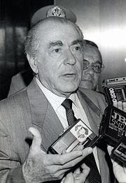 Leonel Brizola, figura política que teve destaque neste evento.