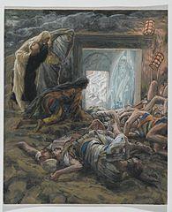 Marie de Magdala et l'autre Marie allèrent voir le tombeau
