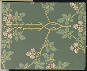 Brooklyn Museum - Wallpaper Sample Book 1 - William Morris and Company - page025